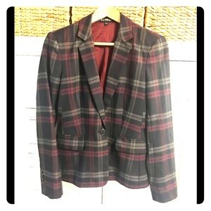 Express plaid blazer